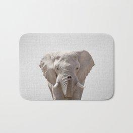 Elephant - Colorful Bath Mat