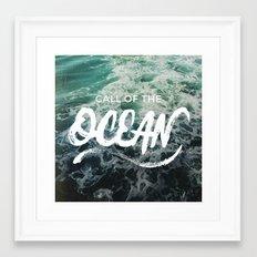 Call of the Ocean Framed Art Print