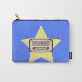 Retro Radio   Carry-All Pouch