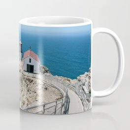 Point Reyes Lighthouse on the Pacific Ocean Coffee Mug