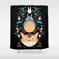 Neighborhood Friends Shower Curtain