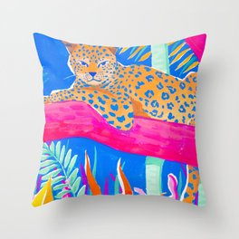 Exotic Jungle Throw Pillow