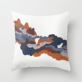 clouds_july Throw Pillow