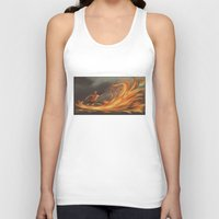aang Tank Tops featuring Avatar Aang by Zack Coleman