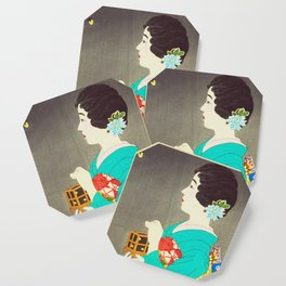 Mushikago - Insect Cage - Japanese Art Coaster