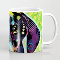 dachshund Mugs featuring Dachshund by Gary Grayson