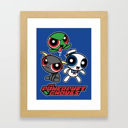 The Powerpuft Ghouls Framed Art Print