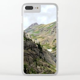 Melting Snows above the Animas River, Near the Eureka Mine Clear iPhone Case