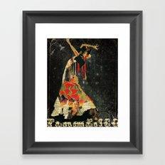 Dance. Illustration series. Framed Art Print