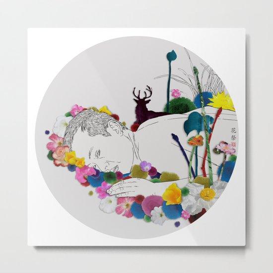 Flower Funeral Metal Print