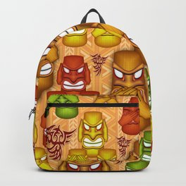 Don't See Don't Hear Don't Speak Totems Backpack
