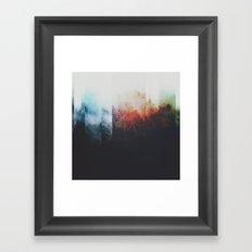 Fractions A75 Framed Art Print