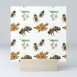 Honey Bees Mini Art Print