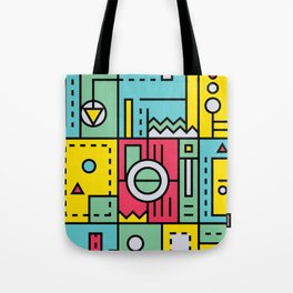 Play on words   Graphic jam Tote Bag