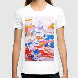 plastic wave T-shirt