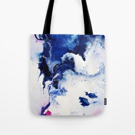 Riveting Abstract Watercolor Painting Tote Bag