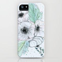 Anemone 2 iPhone Case