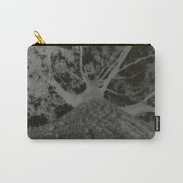 Pinhole Tree Negative Carry-All Pouch