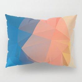 Lima — Poster, scandinavian, art, art print, geometric, pastel, low poly, maritim, drawings, paint Pillow Sham
