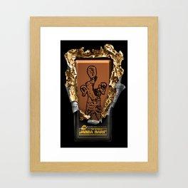 Jabba Bars Framed Art Print