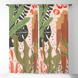 Plant Lady Blackout Curtain