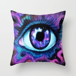 We Are All Made Of Stardust Throw Pillow