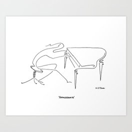 Appassionato - To Play with Love Art Print