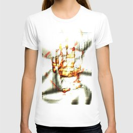 Trace of the hand T-shirt
