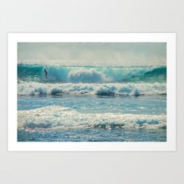 SURF-ACING Art Print