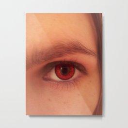 look into my eye Metal Print