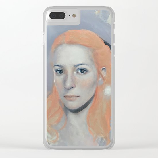 The Storyteller Clear iPhone Case