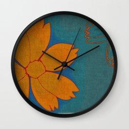 Where Flowers Bloom Wall Clock