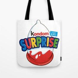 Kondom Surprise Tote Bag