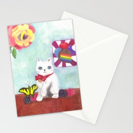 Catberry Stationery Cards
