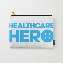 Nurse Gifts, Healthcare hero, ER emergency nursing, Medical assistant, doctor Carry-All Pouch