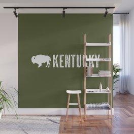Bison: Kentucky Wall Mural