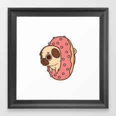 Puglie Doughnut Framed Art Print