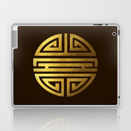 Four blessings Gold Laptop & iPad Skin