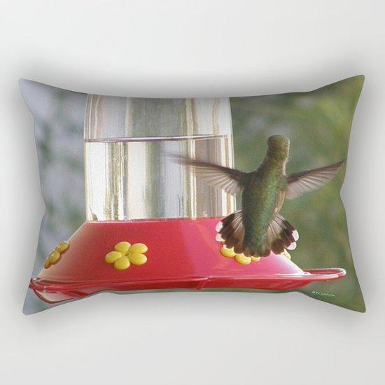 This Feeder is MINE! Rectangular Pillow
