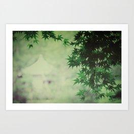japanese serenity Art Print