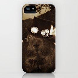 Steampunk Guinea Pig iPhone Case