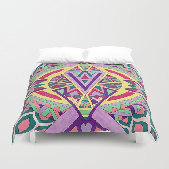 Abstract Journey Duvet Cover