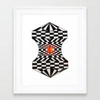 fibonacci Framed Art Prints featuring Fibonacci by Jose Luis