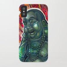 Glowing Buddha iPhone X Slim Case