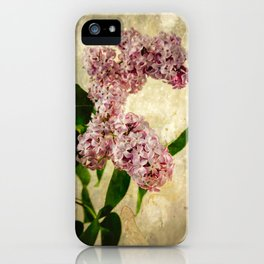 Vintage Lilacs in Bloom iPhone Case