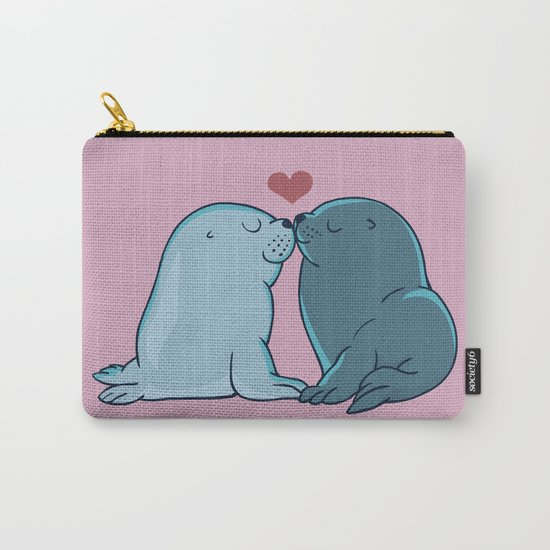 Seal Kisses Carry-All Pouch