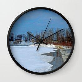 Winter's Appetite Wall Clock
