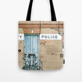 COUNTY POLICE Tote Bag