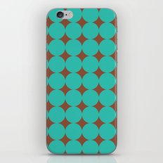 chocolate mint iPhone & iPod Skin