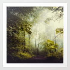 Glorious Woods Art Print